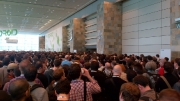These lines were everywhere... for the keynote... for food... for session rooms... for gear-pickup