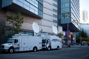 The live streaming trucks to broadcast worldwide
