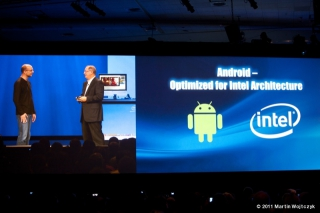 Google + Intel strategic partnership