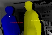 Depth Image of two people